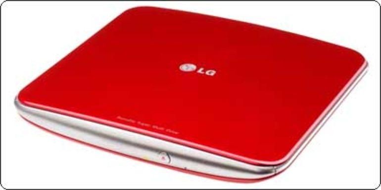 Un graveur DVD externe LG GP40NR10 8X USB 2.0 à 23.40€