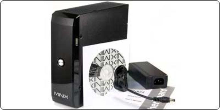Le J&W Minix HD, un nettop fanless sous Atom D2700 à 119€