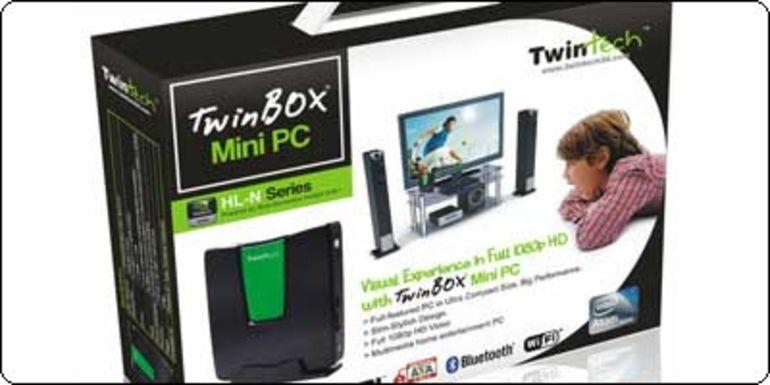 SOLDES : Le nettop TWINTECH D525 + Nvidia / 2Go / 320Go à 170.10€
