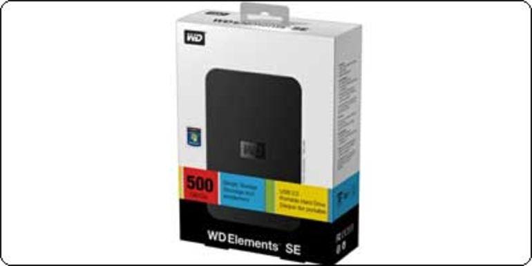 "PROMO : Disque dur externe 2.5"" USB 3.0 Western Digital 1To à 103.89€"
