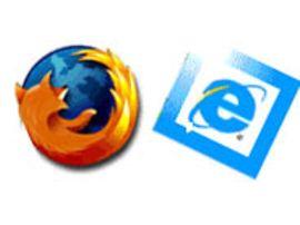 Firefox 2 devant Internet Explorer 7