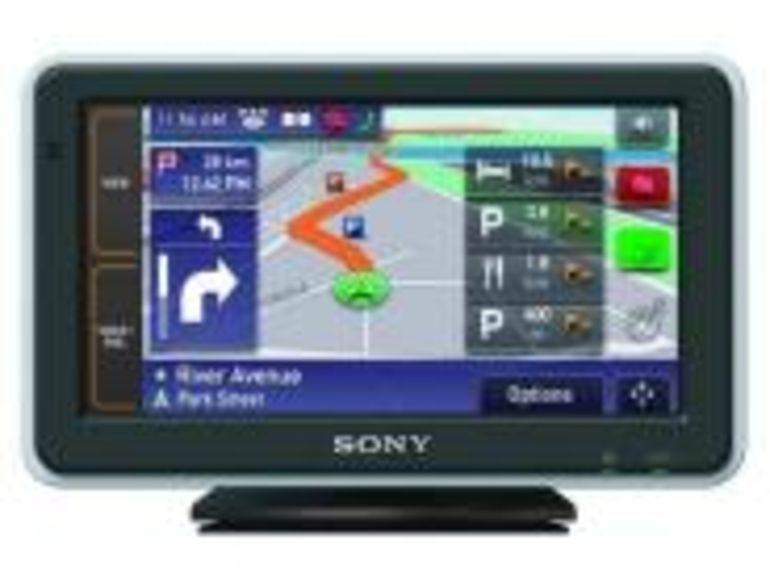 Sony présente le NAV-U92T, un GPS avec un écran XXL