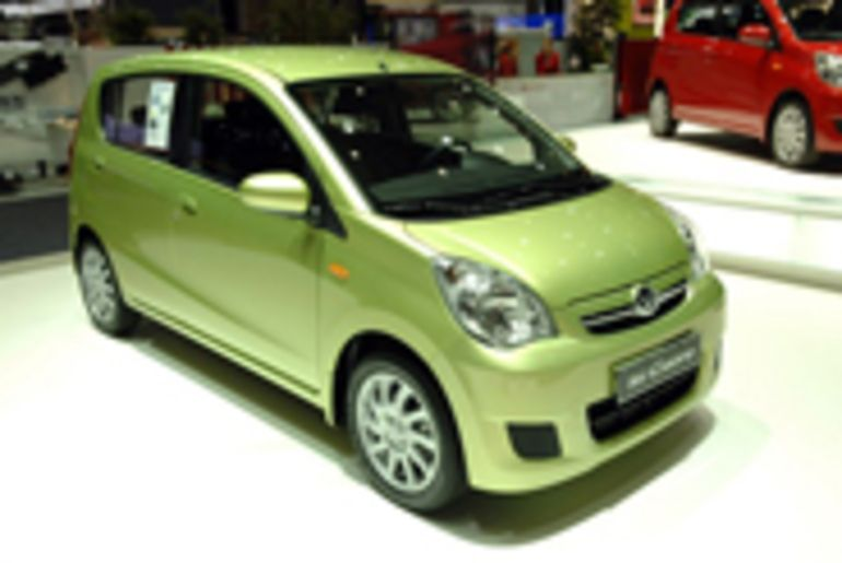 Salon de Genève : la Daihatsu Cuore vise le prix de sobriété