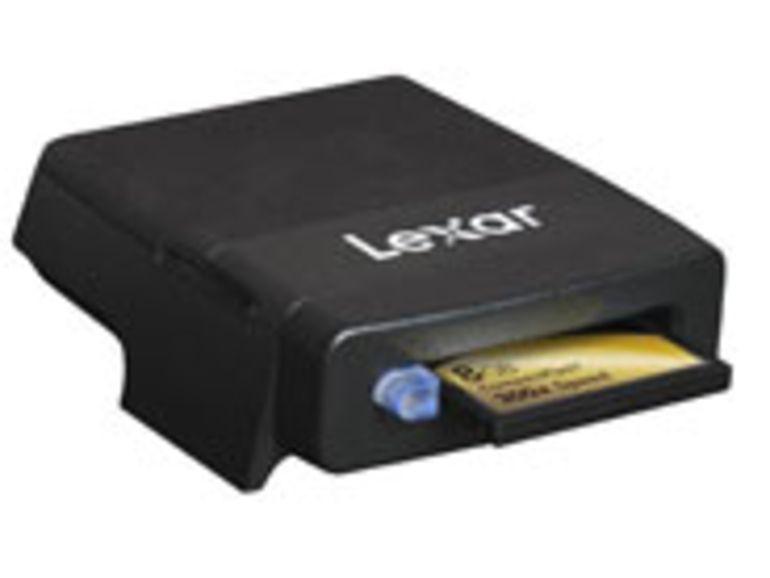 PMA 2007 : Lexar Professionnal Firewire800, le lecteur de cartes le plus rapide du monde