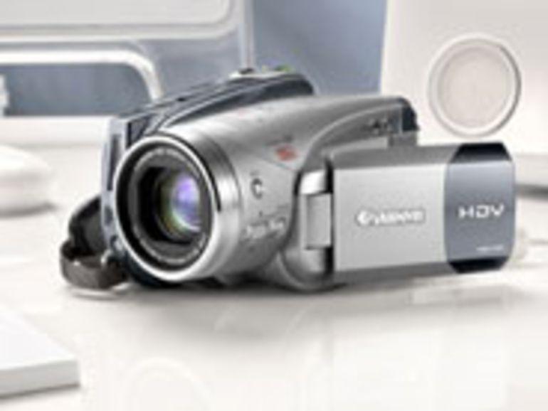 HV20 : deuxième caméscope haute définition grand public de Canon