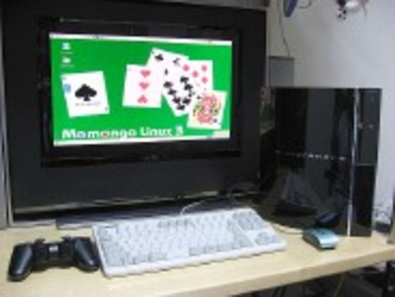 CeBIT 2007 - Sony transforme la PS3 en magnétoscope numérique
