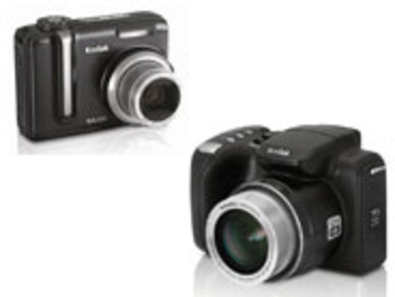 PMA 2007 – EasyShare Z712 IS et Z885, la stabilisation optique et les hautes sensibilités chez Kodak