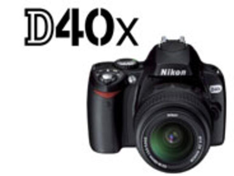 PMA 2007 - D40x:  10 mégapixels pour le nouveau Reflex d'entrée de gamme de Nikon