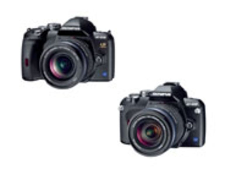 PMA 2007 - E-410 et E-510, le reflex de poche et le reflex stabilisé de Olympus