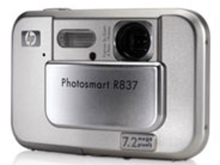 PMA 2007 - Photosmart R837, le compact numérique ultra mince de HP