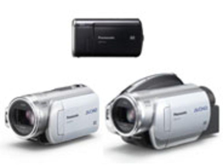 PMA 2007 - SDR-S10 et HDC-SD1, caméscopes bijoux et HD sur carte mémoire de Panasonic.