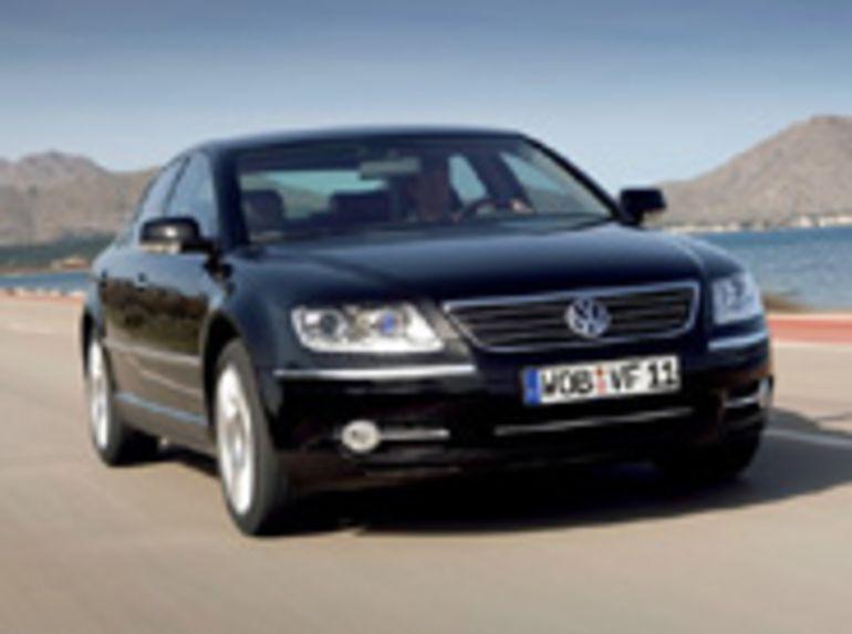 Salon de Genève: La Volkswagen Phaeton mise sur la technologie