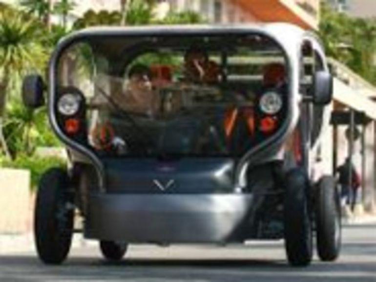 Salon EVER : Venturi présente l' Eclectic, une voiture électrique autonome