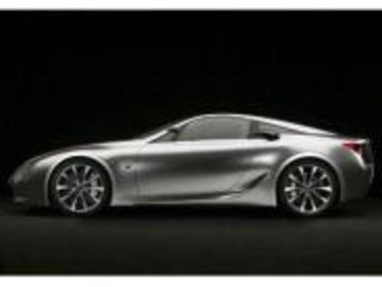 La Lexus LF-A sera le premier coupé sportif à motorisation hybride
