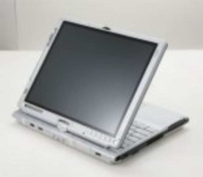 Grand écran pour le nouveau Tablet PC convertible de Fujitsu