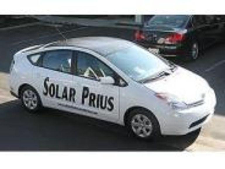 La Prius encore plus écologique grâce à l'énergie solaire