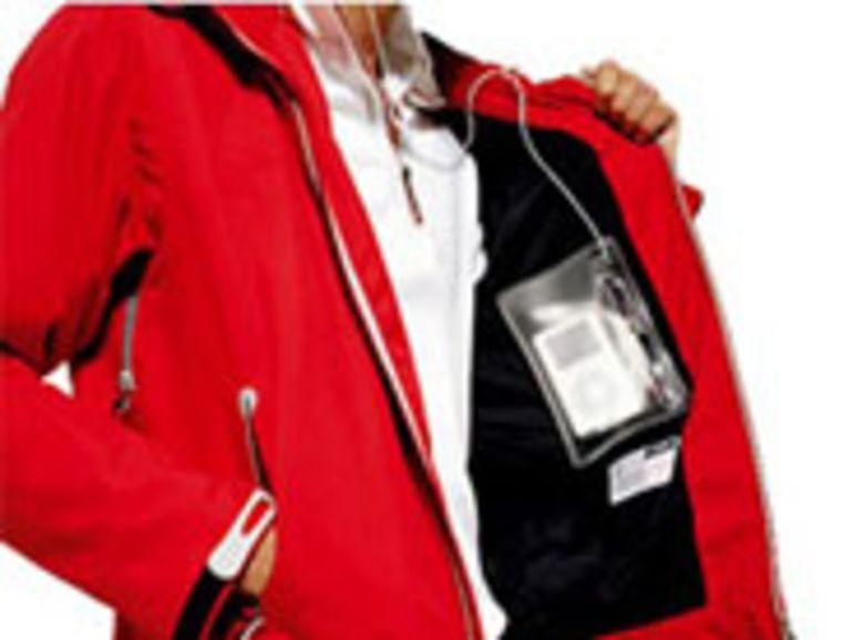 iJacket, une veste taillée pour l'iPod