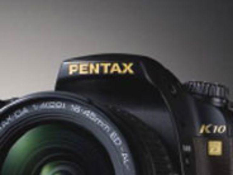 Edition collector du reflex K10D pour les 50 ans du pentaprisme de Pentax