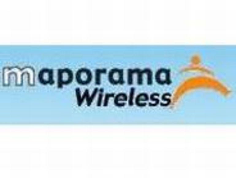 Maporama lance sa version mobile