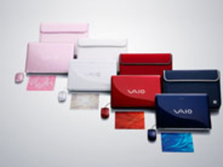 Portables tout en couleur pour les Sony VAIO de l'été 2007