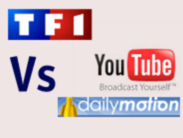 TF1 entend poursuivre Dailymotion et YouTube