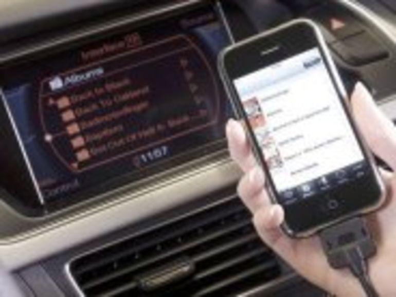 Les Audi deviennent compatibles avec l'iPhone