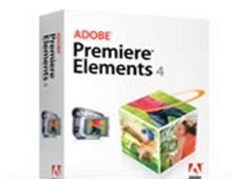Montage vidéo: Adobe Premiere Elements 4 veut faire aussi bien qu'iMovie
