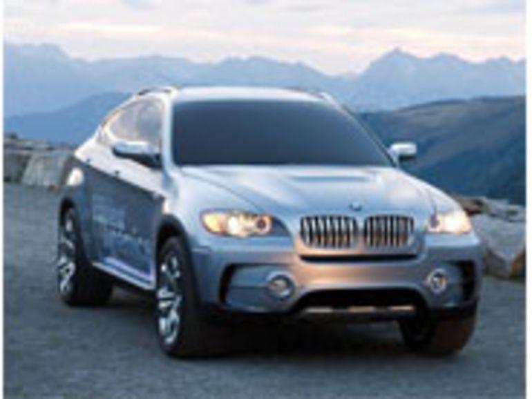 Salon de Francfort : le BMW X6, avec ou sans hybride