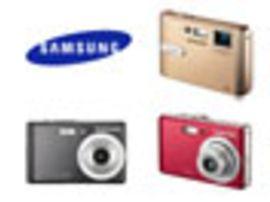 Les 7 et 8 mégapixels s'imposent dans les appareils photo Samsung