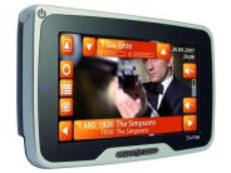 Siemens VDO lance le premier GPS nomade avec tuner TNT