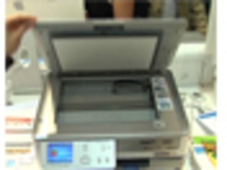Apple Expo : HP Photosmart C8180 en vidéo