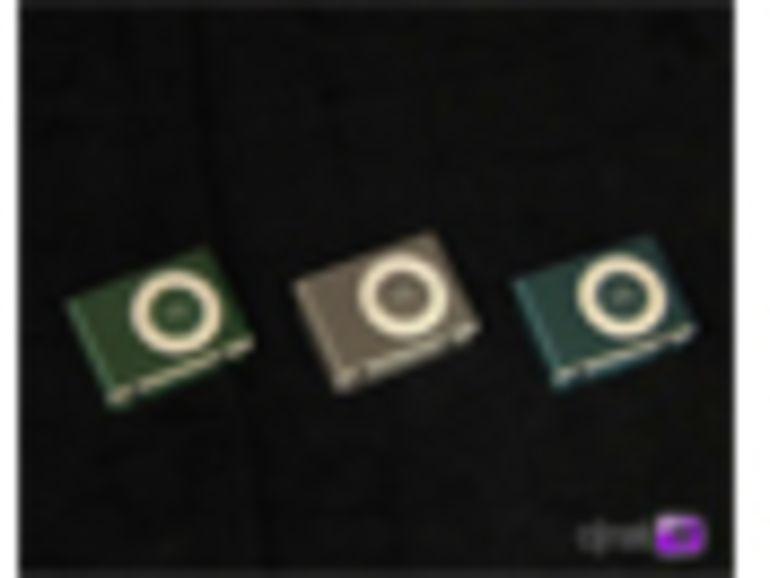 Apple Expo : l'iPod Shuffle en vidéo