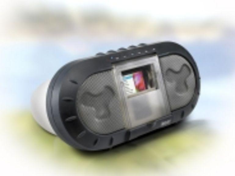 Hercules chouchoute l'iPod avec une station d'accueil étanche et antichocs