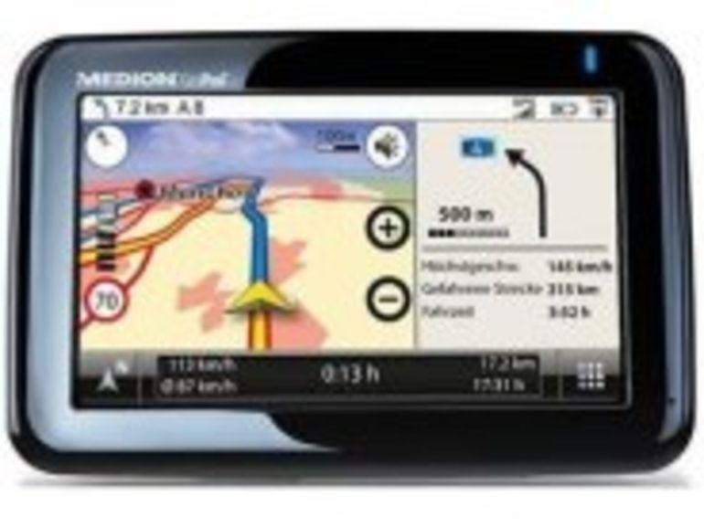 Medion GoPal P4425 : le GPS passe au biométrique