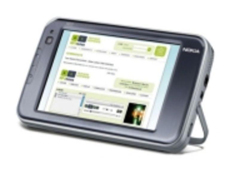 Avec la N810, Nokia améliore son concept de tablette Internet