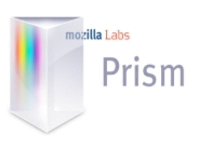 Avec Prism, Mozilla veut déporter le Web sur le bureau