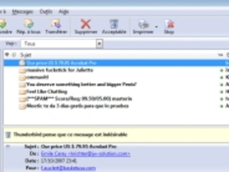 En 2007, le phishing a rapporté 3,2 milliards de dollars aux pirates