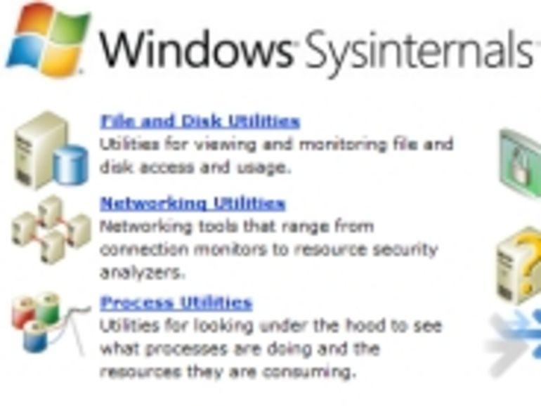 Sysinternals : une suite d'utilitaires gratuits signée Microsoft