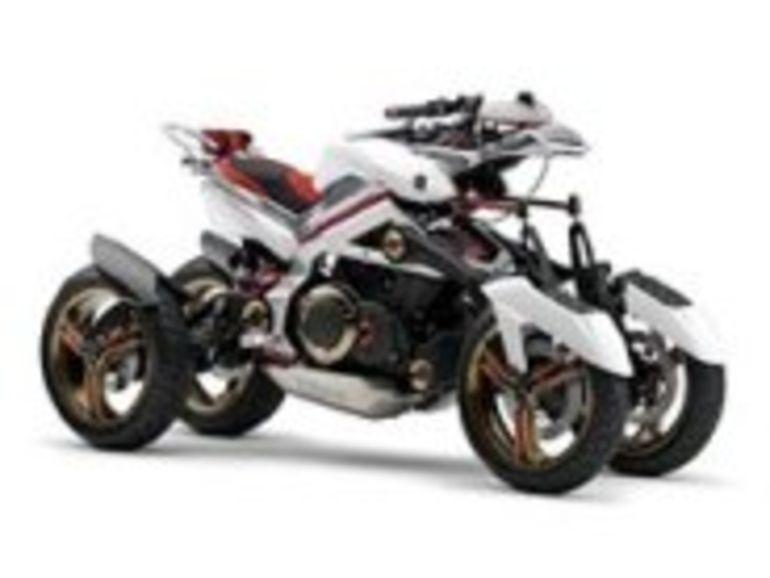 Salon de Tokyo : Yamaha Tesseract, la moto à moteur hybride