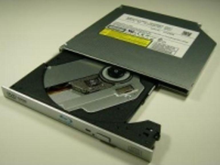 CES 2008 : Panasonic annonce un graveur Blu-ray extra-fin pour PC portable