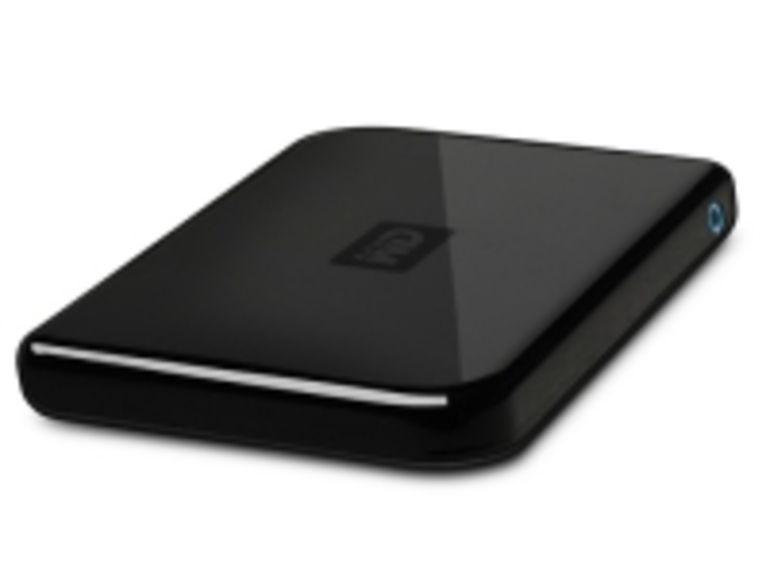 Western Digital cache 320 Go dans un disque dur de poche