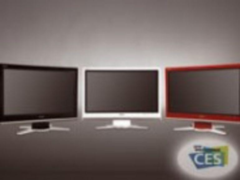 CES 2008 : Les applications Web et le jeu seront les prochains arguments des téléviseurs LCD