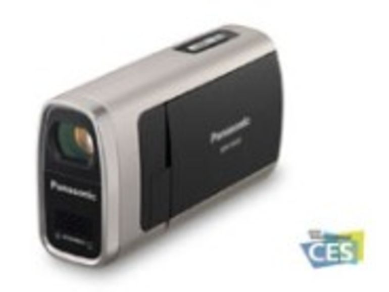 CES 2008 : Panasonic SW20, un caméscope tout-terrain