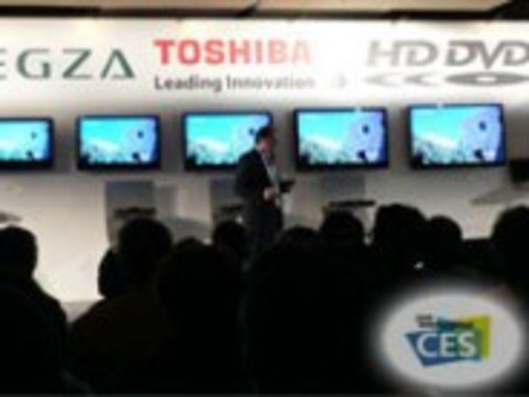 CES 2008 : Malgré la défection de Warner envers le HD-DVD, Toshiba fait ses annonces produits comme si de rien n'était