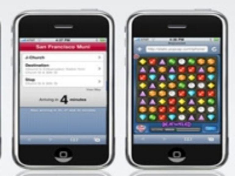 L'iPhone 2.0 permettra de sauvegarder des images en provenance du web
