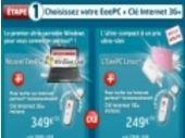 SFR dévoile ses deux offres pour l'Eee PC 900