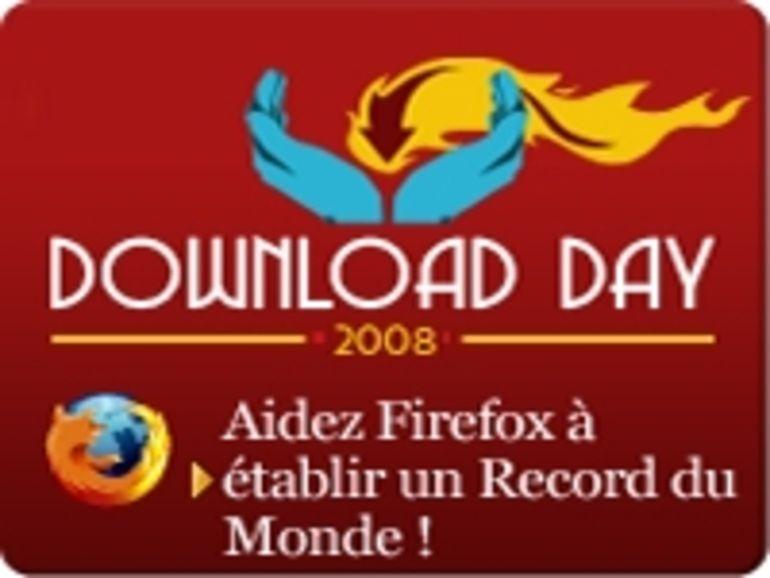 8,3 millions de téléchargements en 24h pour Firefox 3