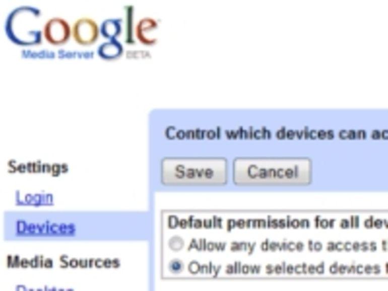 Google Media Sever : un gadget pour partager musique et vidéo sur sa console de salon