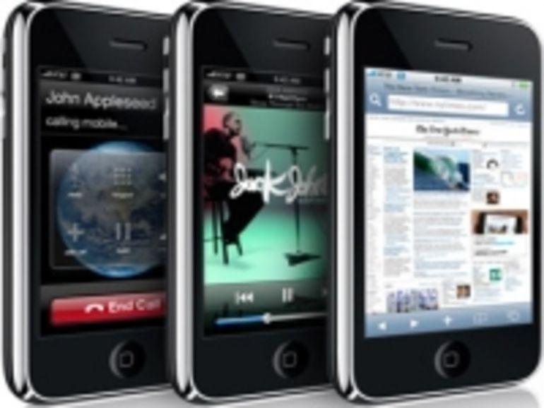 Les prix de l'iPhone 3G différents suivant les pays