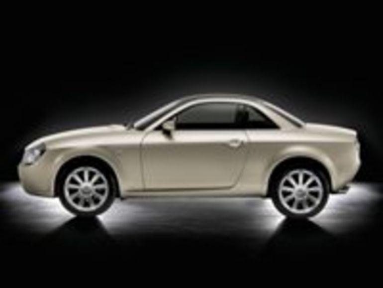 Une Lancia Fulvia pour le mondial de l'automobile